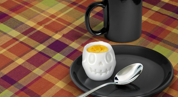 Skull-Shaped Boiled Egg Mold (1)